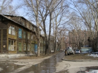 Novosibirsk, 1st Seraphimovich alley, house 9. Apartment house