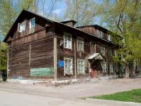 Новосибирск, переулок Серафимовича 1-й, дом 11. многоквартирный дом