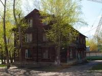 Новосибирск, улица Степная, дом 4. многоквартирный дом