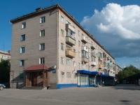 Новосибирск, улица Степная, дом 61А. многоквартирный дом