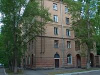 Новосибирск, улица Костычева, дом 4. многоквартирный дом