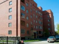 Новосибирск, улица Костычева, дом 19. многоквартирный дом