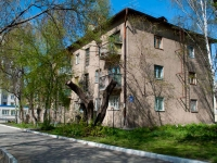 Novosibirsk, Kostychev st, house 32. Apartment house