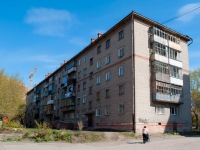 Novosibirsk, Kostychev st, house 38. Apartment house
