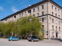 Novosibirsk, Titov st, house 7. Apartment house