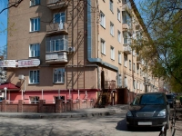 Novosibirsk, Titov st, house 21. Apartment house