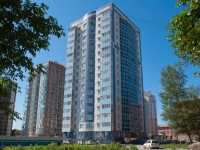 Novosibirsk, Titov st, house 27. Apartment house