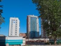 Novosibirsk, Titov st, house 29 с.1. building under construction
