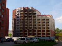 Novosibirsk, Titov st, house 200 с.2. building under construction