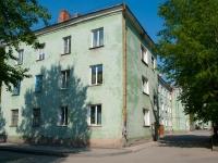 Новосибирск, улица Забалуева, дом 43. многоквартирный дом