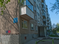 Novosibirsk, Zabaluev st, house 70. Apartment house