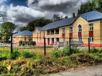 Новосибирск, переулок Порядковый 2-й, дом 10А. реабилитационный центр Областной дом милосердия, стационарное социальное учереждение