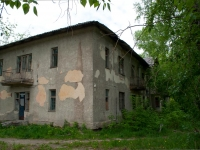 Novosibirsk, The 2nd Poryadkovy alley, vacant building