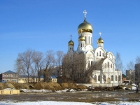 Novosibirsk, cathedral Свято-Троице-Владимирский собор, Filatov st, house 14А