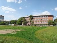 Новосибирск, улица Крашенинникова, дом 6. школа Средняя общеобразовательная школа №40