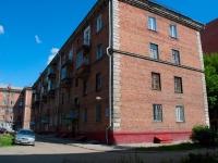Новосибирск, Крашенинникова 3-й переулок, дом 5. многоквартирный дом