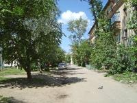 Novosibirsk, alley The 3rd Krasheninnikov, house 8. Apartment house