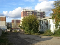 Новосибирск, улица Плахотного, дом 107. многоквартирный дом