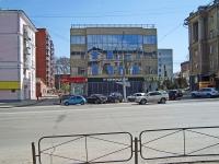 Новосибирск, улица Станиславского, дом 3/1. многофункциональное здание