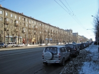 Novosibirsk, Stanislavsky st, house 11. Apartment house