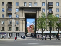 Новосибирск, улица Станиславского, дом 3. многоквартирный дом