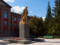 Новосибирск, улица Станиславского. памятник В.И.Ленина