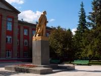 Novosibirsk, monument В.И.ЛенинаStanislavsky st, monument В.И.Ленина
