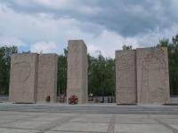 Новосибирск, монумент Славыулица Станиславского, монумент Славы