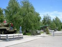 Новосибирск, улица Станиславского. мемориальный комплекс Аллея оружия