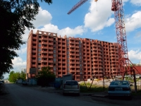 Novosibirsk, Tankistov st, house 4. building under construction