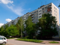 Novosibirsk, st Tankistov, house 21. Apartment house