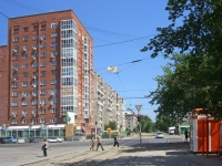 Novosibirsk, Vertkovskaya st, house 38. Apartment house