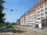 Novosibirsk, st Vertkovskaya, house 40. Apartment house