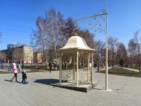 Новосибирск, улица Вертковская. Ротонда