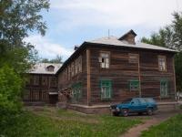 Новосибирск, улица Петропавловская, дом 12. многоквартирный дом