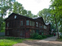 Novosibirsk, the 1st Petropavlovsky alley, house 4. Apartment house