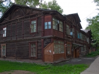 Novosibirsk, the 1st Petropavlovsky alley, house 6. Apartment house