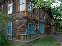Novosibirsk, the 1st Petropavlovsky alley, house 8. Apartment house
