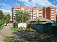 Novosibirsk, Tikhvinskaya st, house 14. Apartment house