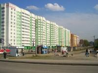 Новосибирск, улица Троллейная, дом 1. многоквартирный дом