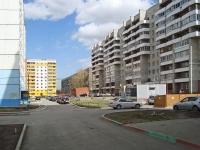 Новосибирск, улица Троллейная, дом 7. многоквартирный дом