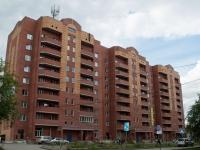 Новосибирск, улица Троллейная, дом 17. многоквартирный дом