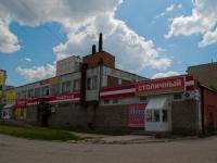 Новосибирск, улица Троллейная, дом 22А. многофункциональное здание