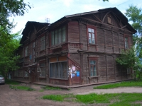 Novosibirsk, Trolleynaya st, house 31. Apartment house