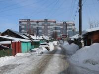 Новосибирск, улица Троллейная, дом 21. многоквартирный дом
