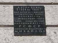 Novosibirsk, Ordzhonikidze st, house 21. Apartment house