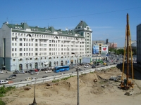 Novosibirsk, Ordzhonikidze st, house 23. Apartment house