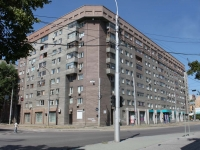Novosibirsk, Ordzhonikidze st, house 33. Apartment house
