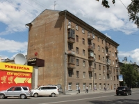 Novosibirsk, Ordzhonikidze st, house 37. Apartment house