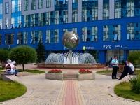 Новосибирск, улица Орджоникидзе. фонтан